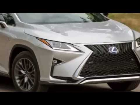 2016 Lexus RX Don't give up your day job.