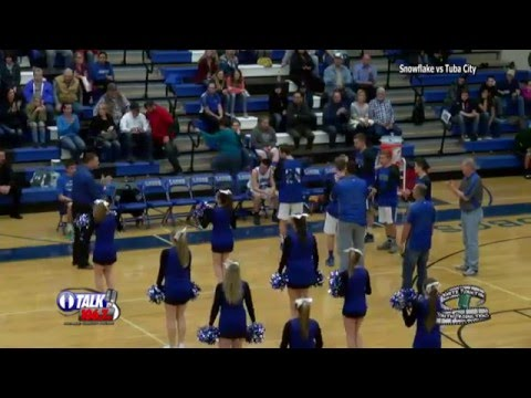 Tuba City vs Snowflake High School Basketball Full Game