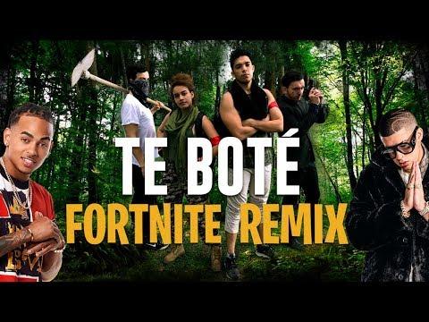 Te Bote Remix (Parodia) - FORTNITE REMIX