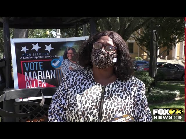 Judicial candidate: Her election signs are being stolen