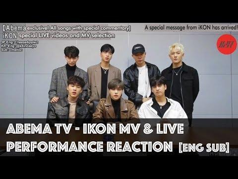 (ENG SUB) iKON MV & LIVE Performance Reaction at Abema TV 181012