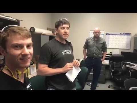 5/30/17 - LIVE! David Gross visits the Unisub Facility
