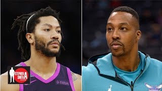 Derrick Rose offers advice to Dwight Howard, reveals his lowest point in NBA | Stephen A. Smith Show
