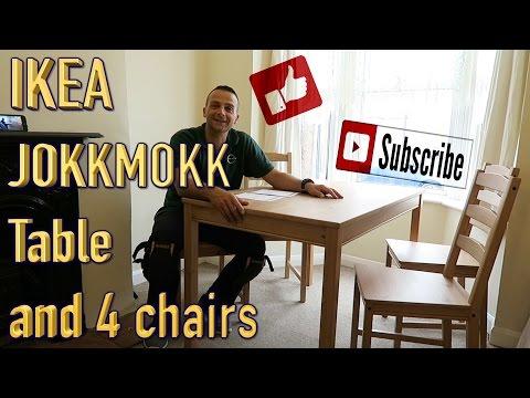 IKEA JOKKMOKK kitchen table and 4chairs.
