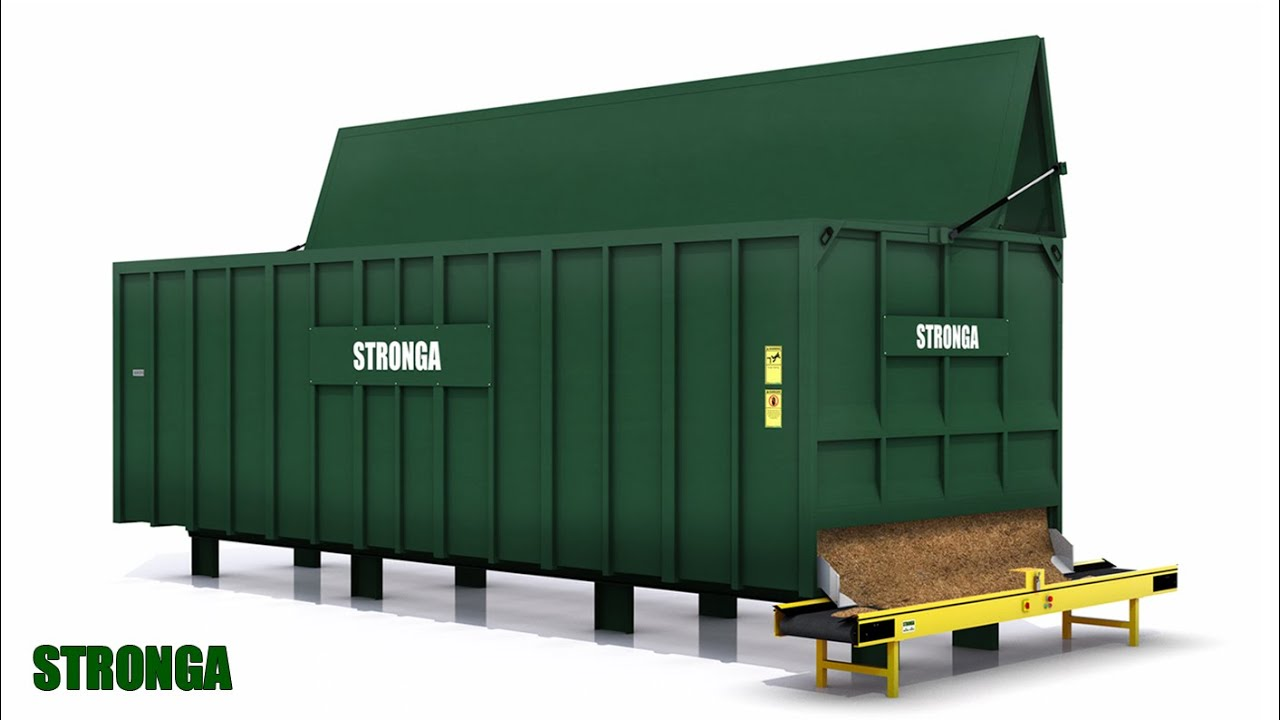 Stronga FlowFeeda FF60 Biomass Woodchip Fuel Storage And Feeder Module