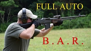 Browning Automatic Rifle (BAR)