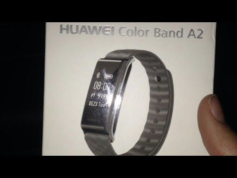 Huawei color band A2 review (ENG/GR)
