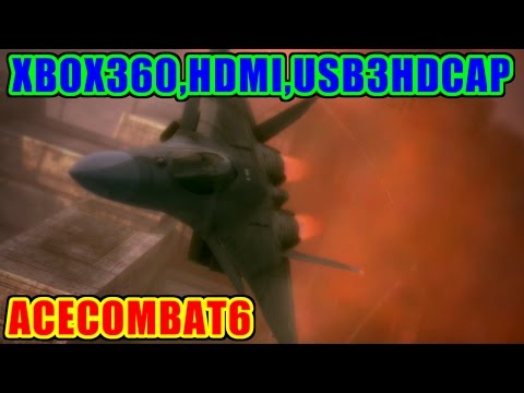 CFA-44(Nosferatu) - シャンデリア攻落 - ACECOMBAT6 [HDMI,USB3HDCAP,StreamCatcher]
