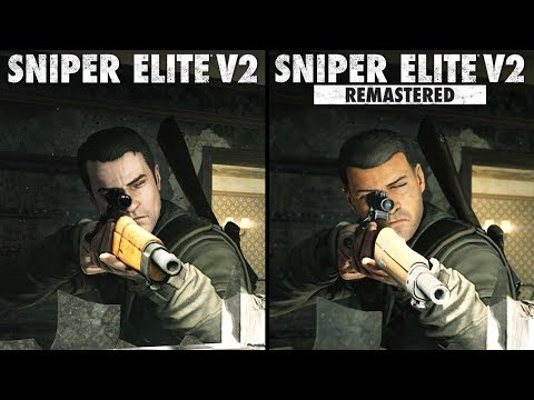 Sniper Elite V2 Remastered vs Original | Direct Comparison