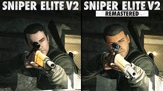 Sniper Elite V2 Remastered vs Original | Direct Comparison