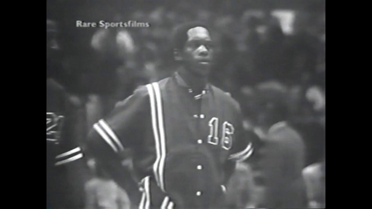 """Nate """"Tiny"""" Archibald 12pts vs ABA All Stars 1972"""