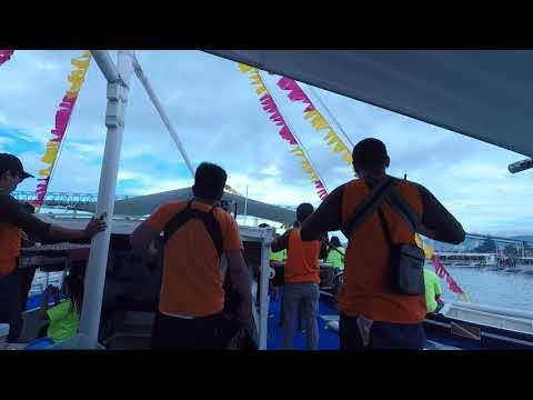 Sinulog Fluvial Parade - From Mactan/Mandaue Channel to Pier 1  Cebu City, Philippines 2018