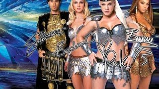 We will rock you (comercial pepsi HD) Britney Spears, Beyonce, Pink and Enrique Iglesias