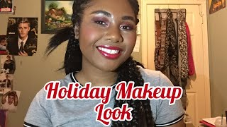 Holiday Makeup Tutorial!