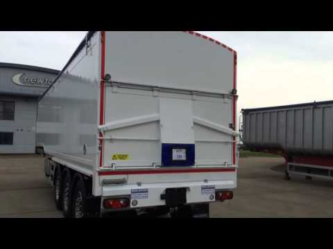 New 2015 Muldoon Bulk Tipping Blowing Tipper Trailer For Sale