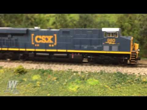 Walthers Update 95 – All-new WalthersMainline® HO GE ES44 GEVO diesel locomotives