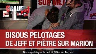 Bisous pelotages de Jeff et Piètre sur Marion  - C'Cauet sur NRJ