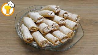 Печенье Бармак. Ореховое печенье. (Пошаговый рецепт).