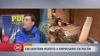 Homicida de empresario desaparecido en Pucón se encuentra confeso