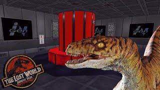 Exploring The InGen Lab On Isla Sorna - Jurassic Park: Trespasser - Part 10