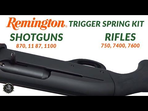 Remington Shotguns 870, 11 87, 1100 & Remington Rifles 750, 7400, 7600 Trigger Spring Kit