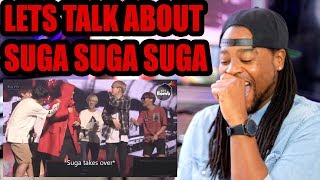 Download BTS MEMBERS ARE LOWKEY TERRIFIED OF SUGA!!! REACTION Mp3 and Videos