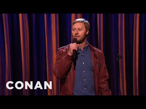 Rory Scovel Stand-Up 01/07/16  - CONAN on TBS