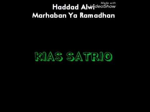 Lirik Lagu Haddad Alwi - Marhaban Ya Ramadhan