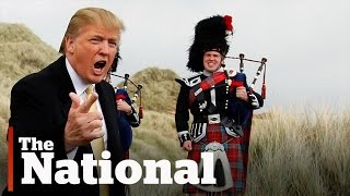 Trump's Scotland Wall