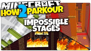 Minecraft | HOW 2 PARKOUR | Trapdoors, SPEED RUNS, Hell Parkour (Minecraft How To Parkour)