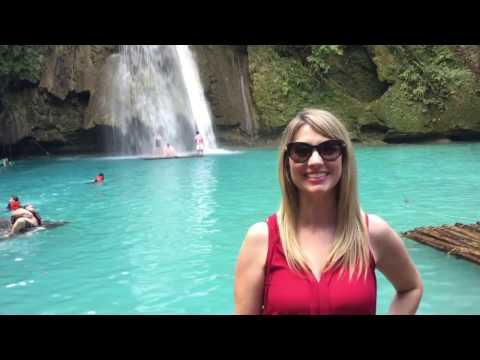 KAWASAN FALLS - Cebu, Philippines- Most beautiful place ever!