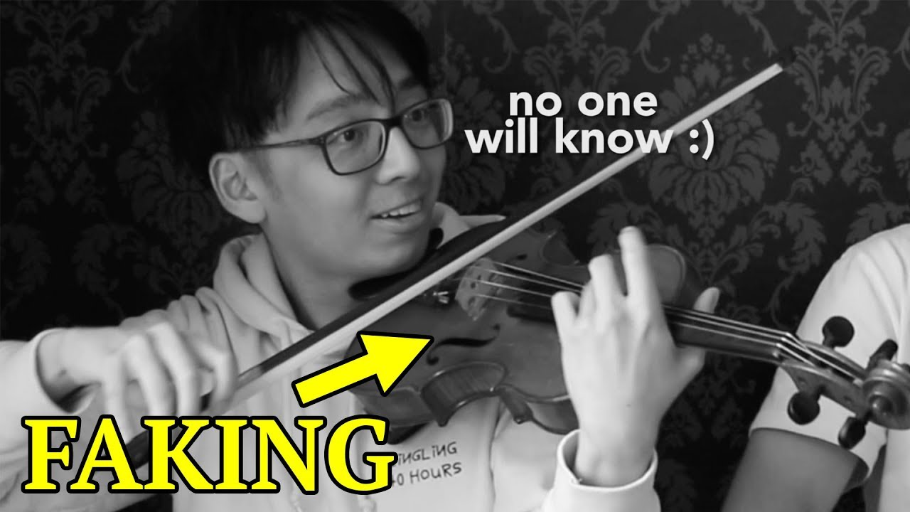 How To Fake In Orchestra Youtube