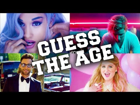 Try to Guess The Artists Age Challenge !!!