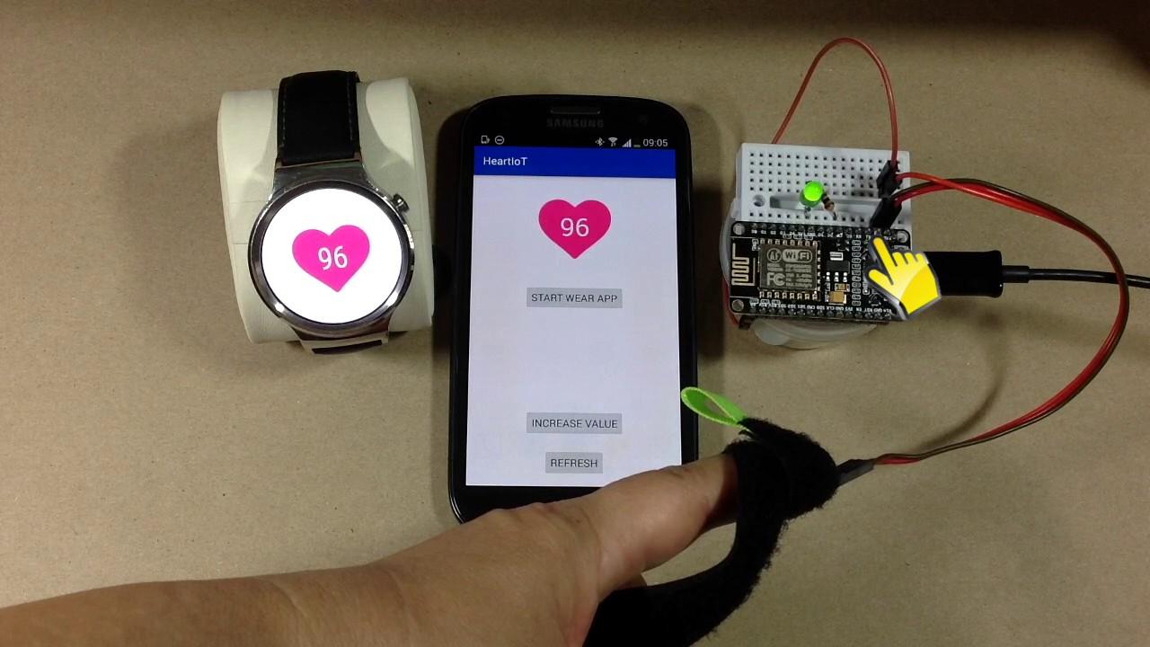 Iot Project Heart Rate Monitor By Intermedia Arduino Ecg Ekg Circuit Prototype Youtube