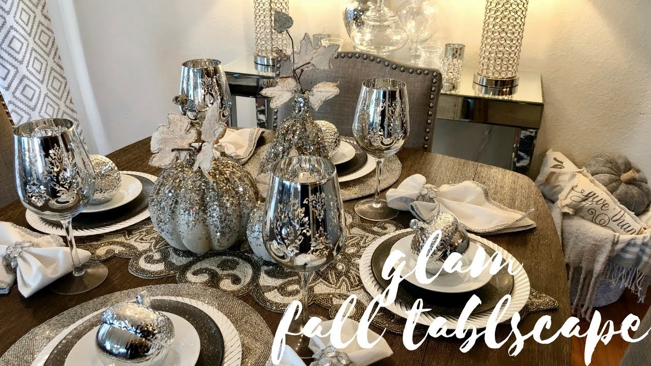 Decorate With Me Glam Fall Table Decor