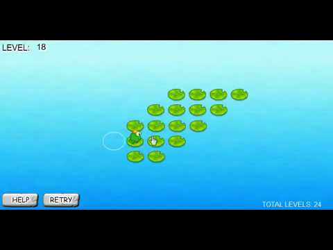 Clever Frog Tutorial ( Level 1 To 24 )