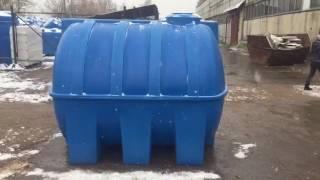 видео Бак для воды Полимер G 3000 литров