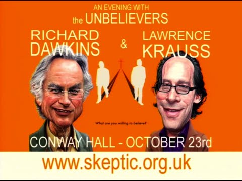 Richard Dawkins and Lawrence Krauss - An Evening With The Unbelievers