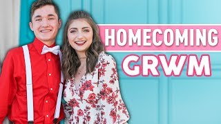 My Last HOMECOMiNG Dance | Kamri Noel Get Ready With Me (GRWM)