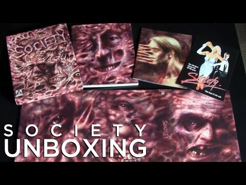 Unboxing |Society|1989 Arrow Video Blu-Ray& DVD
