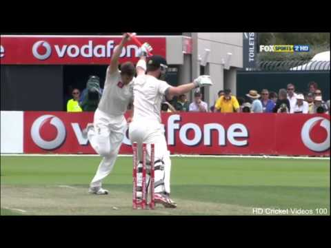 James Pattinson 5 wickets vs New Zealand 2nd Test 2012 HD