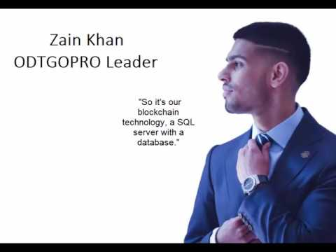Zain Khan - Onecoin blockchain technology on a SQL server
