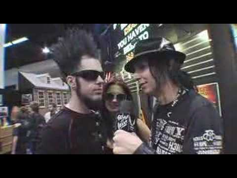 Curse Mackey Interview Wayne Static Dean Guitars NAMM 2008
