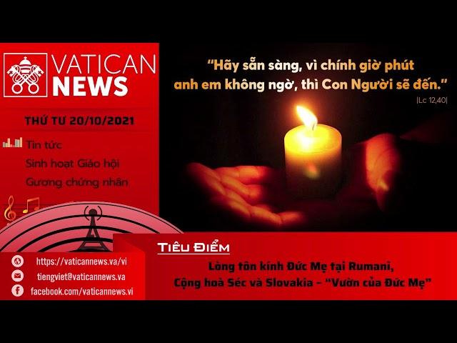 Radio Thứ Tư 20/10/2021 - Vatican News Tiếng Việt