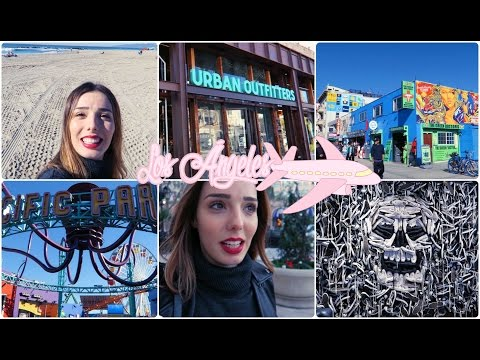 LOS ÁNGELES || Venice Beach, Santa Mónica, Rodeo Drive y más! Día 1 y 2  | A Little Too Often