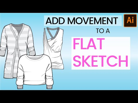How To Draw Flat Sketches In Illustrator
