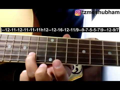 Rabba Rabba (Single String) Guitar Tabs Tutorial | Heropanti | Shubham Joshi