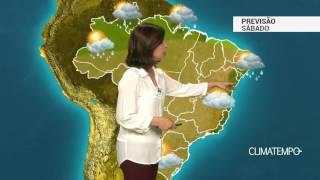 Previsão Brasil – Mais frio no centro-sul do país