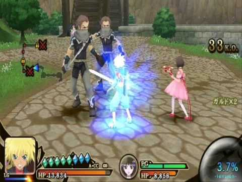 Download Tales of the Heroes Twin Brave Kyle Dunamis & Reala Moveset