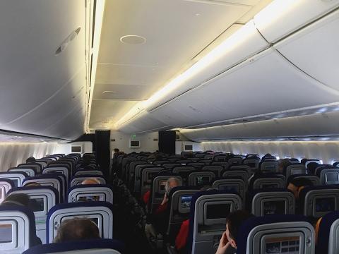 Lufthansa Boeing 747-8i Economy Class Review + Upper Deck Special!